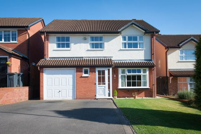 Thumbnail Detached house for sale in Glenfield Close, Sutton Coldfield