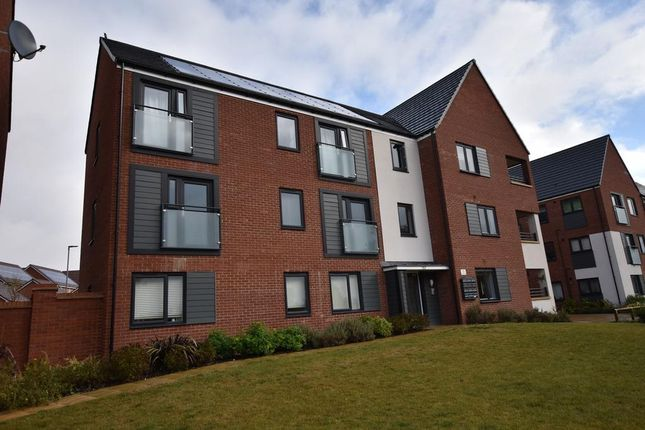 Thumbnail 2 bed flat for sale in Apollo Avenue, Fairfields, Milton Keynes