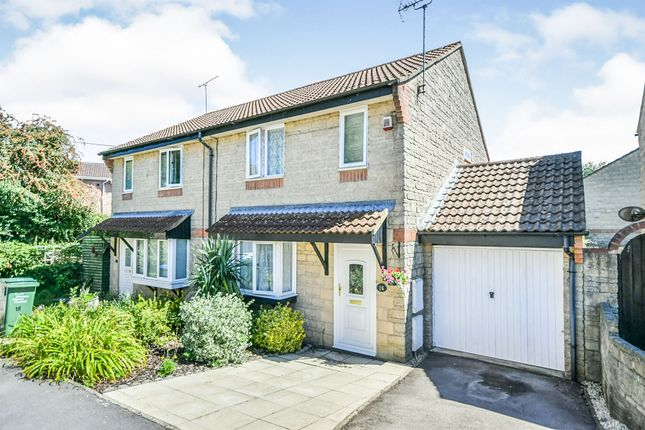 Thumbnail Semi-detached house for sale in Fortune Way, Pewsham, Chippenham