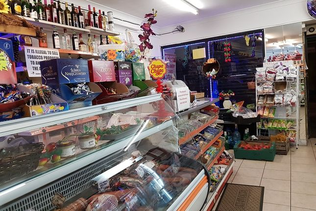 Thumbnail Retail premises for sale in Roman Road, London