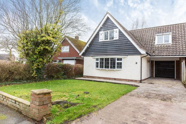 Thumbnail Semi-detached house for sale in Mossley Court, Congleton, Cheshire