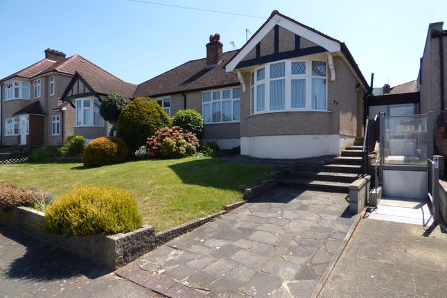Thumbnail Semi-detached bungalow for sale in Haslemere Avenue, East Barnet