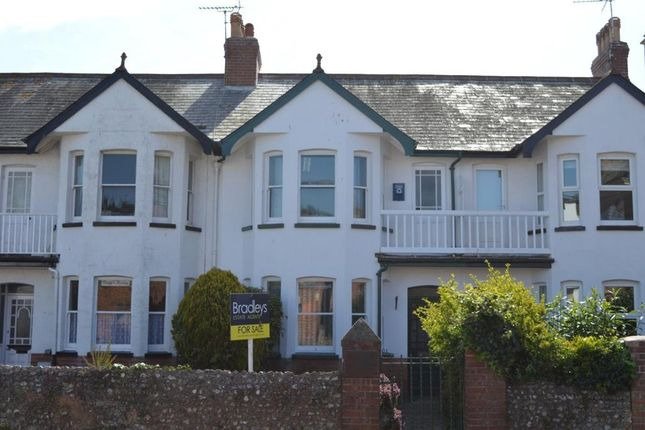 Thumbnail Terraced house for sale in Vicarage Road, Sidmouth, Devon