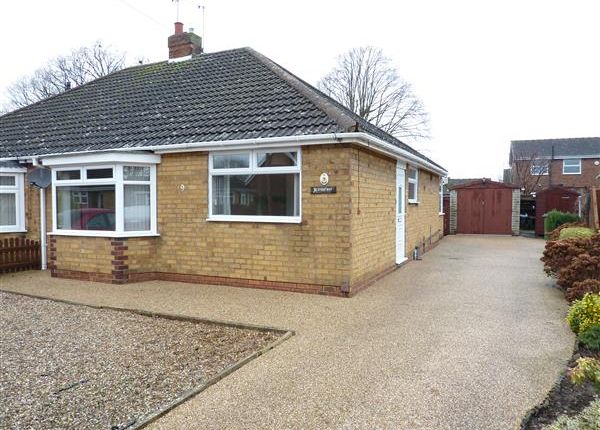 Thumbnail Semi-detached bungalow for sale in The Orchard, New Waltham, Grimsby