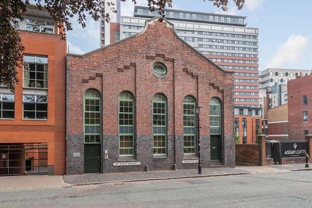 Thumbnail Studio to rent in St. Pauls Square, Birmingham, West Midlands.