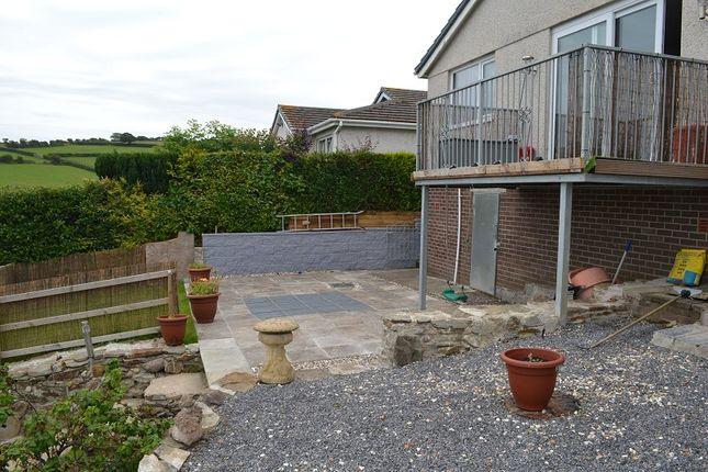 Rear Garden of Golwg Y Mor, Penclawdd, Swansea SA4
