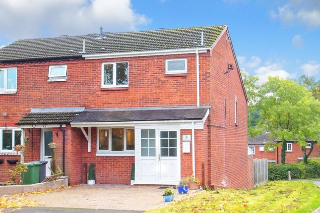 3 bed end terrace house for sale in Lightoak Close, Walkwood, Redditch B97