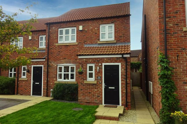 3 bed end terrace house for sale in Station Rise, Riccall, York YO19