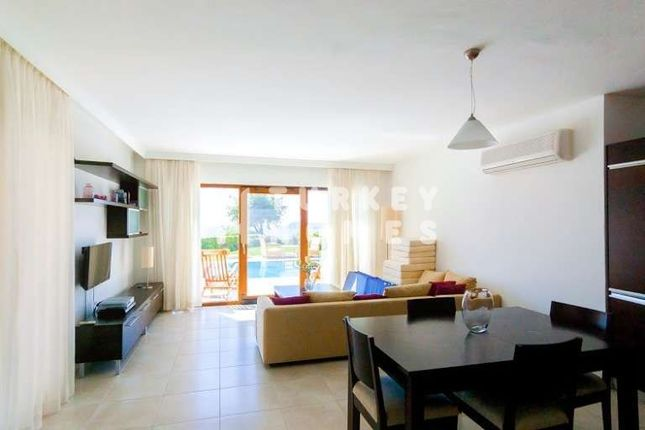 Sea View Villa - Gumusluk, Bodrum - Lounge With Terrace And Garden Access