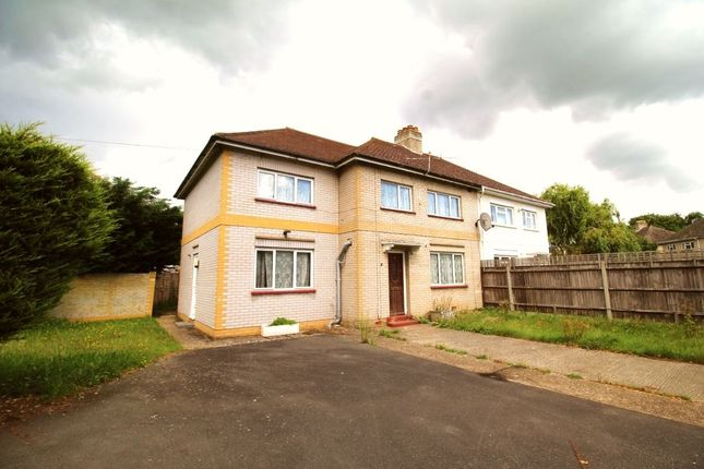 Thumbnail Detached house to rent in Ashwood Road, Englefield Green, Egham