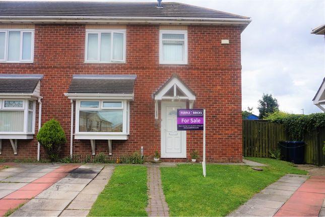 Thumbnail Semi-detached house for sale in Primrose Avenue, South Shields