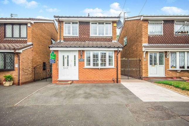 Thumbnail Detached house for sale in Portchester Drive, Wolverhampton