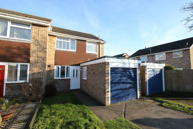 Thumbnail End terrace house to rent in Chaunterell Way, Abingdon