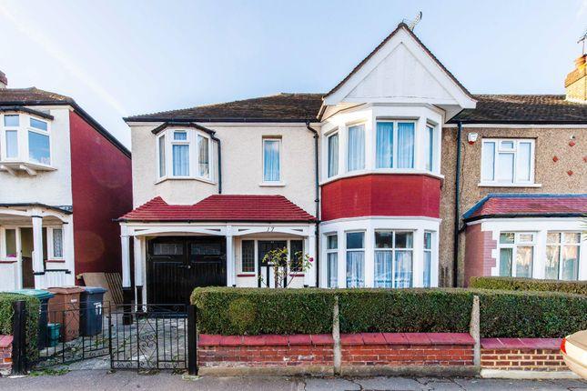 Thumbnail End terrace house for sale in Ewart Grove, London