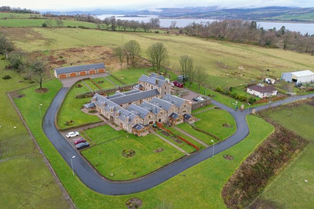 Thumbnail Town house for sale in Old Greenock Road, Langbank, Port Glasgow