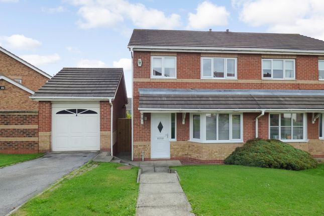 Thumbnail Semi-detached house for sale in Willerby Grove, Peterlee