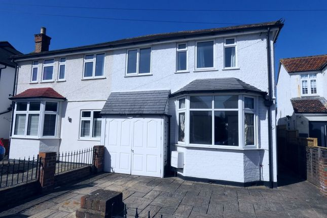 Thumbnail Semi-detached house for sale in Nightingale Road, West Molesey