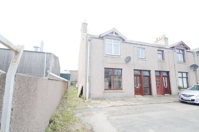 Thumbnail End terrace house for sale in 23, Maconochie Place, Fraserburgh AB439Th