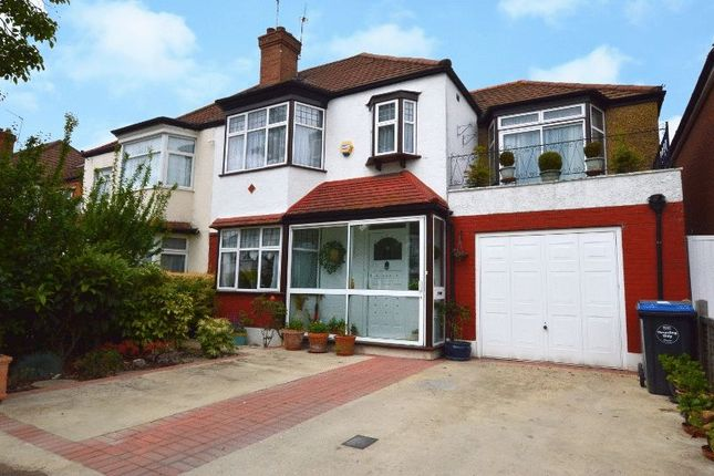 Thumbnail Semi-detached house for sale in Langham Gardens, Wembley