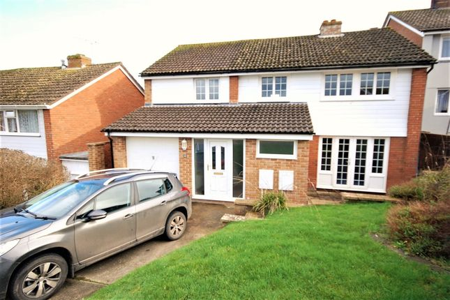 Thumbnail Detached house to rent in Grove Hill, Colyton