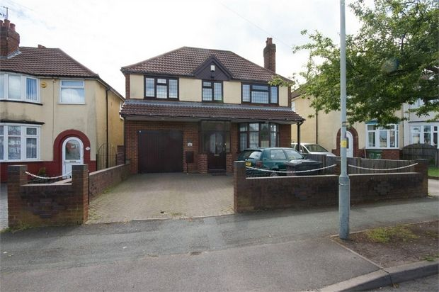 Thumbnail Detached house for sale in Willow Avenue, Wednesfield, Wolverhampton, West Midlands