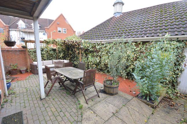 Garden of Heigham Street, Norwich, Norfolk NR2