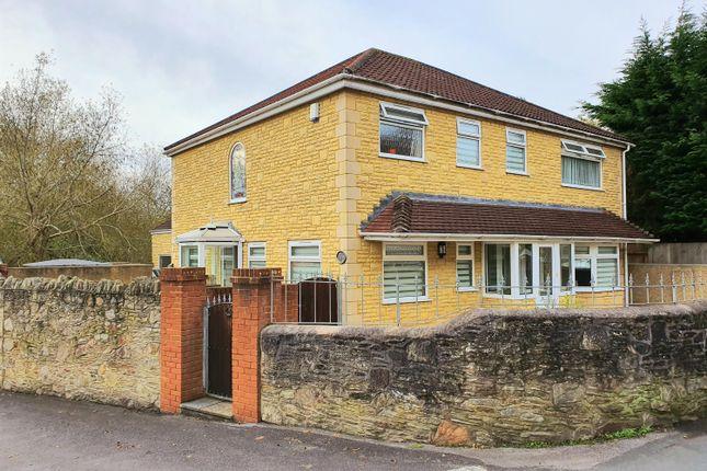 Thumbnail Detached house for sale in Poplar Road, Hanham, Bristol