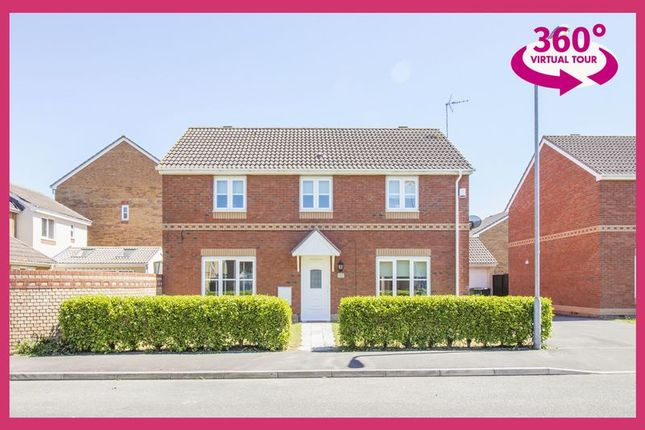 Thumbnail Detached house for sale in Harrison Drive, St. Mellons, Cardiff