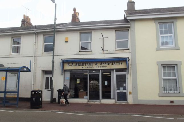 Thumbnail Commercial property for sale in Babbacombe Road, Torquay