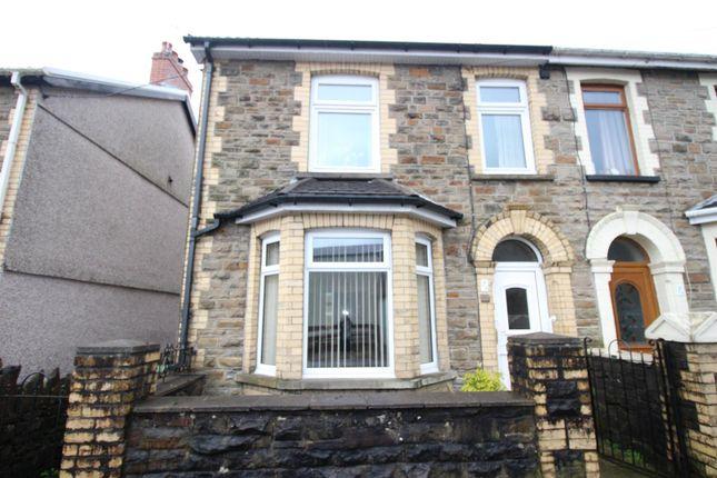 Thumbnail Semi-detached house for sale in Bernard Street, Cwmcarn, Newport