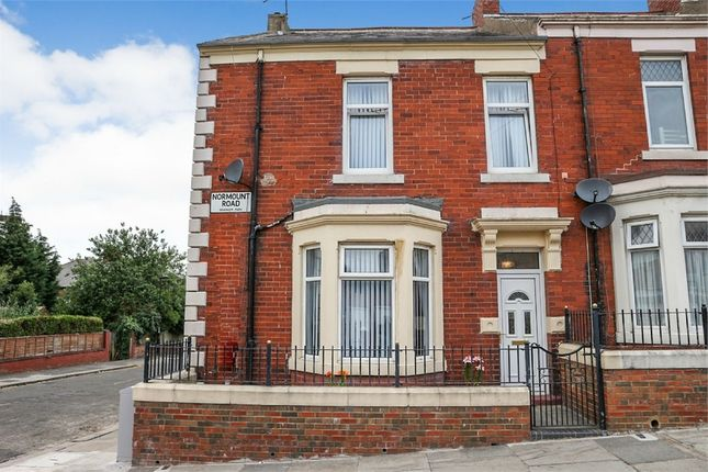 Thumbnail End terrace house for sale in Normount Road, Newcastle Upon Tyne, Tyne And Wear