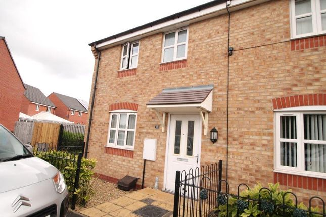 3 bed terraced house to rent in Falshaw Way, Manchester M18