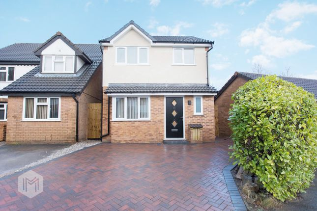Thumbnail Detached house for sale in Hindburn Drive, Worsley, Manchester