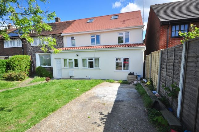 Thumbnail Semi-detached house to rent in Straight Road, Romford