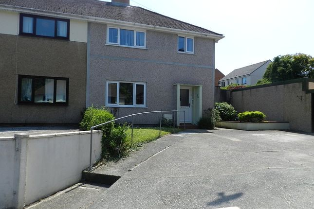 Thumbnail Semi-detached house for sale in St. Thomas Avenue, Haverfordwest, Pembrokeshire