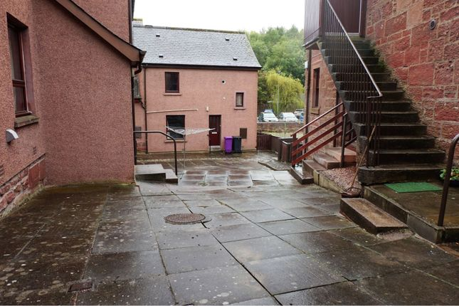 Rear Garden of Bellies Brae, Kirriemuir DD8
