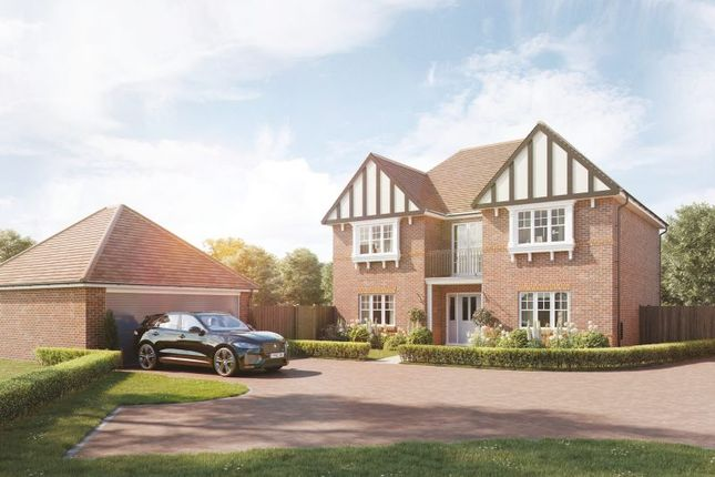 """Thumbnail Detached house for sale in """"The Lambourne"""" at Kennedy Meadow, Hungerford"""
