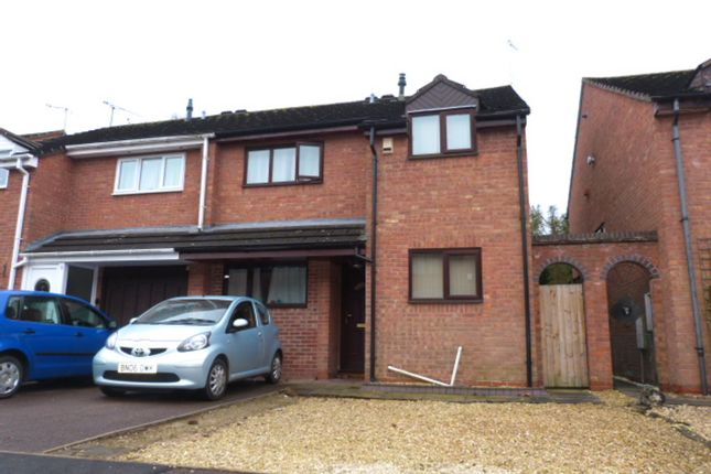 Thumbnail Semi-detached house to rent in Nuffield Close, Worcester