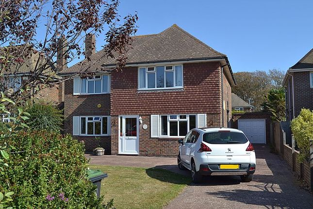 Thumbnail Detached house for sale in Withdean Avenue, Goring-By-Sea, Worthing