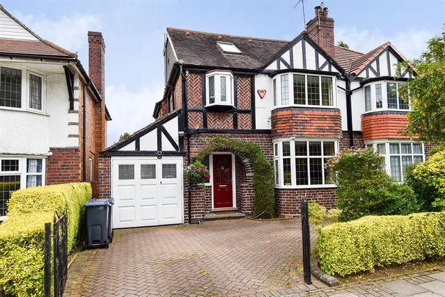 Thumbnail Semi-detached house for sale in Weoley Park Road, Selly Oak, Birmingham