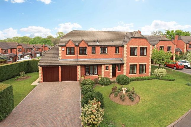 Thumbnail Detached house for sale in Sulby Drive, Leegomery, Telford