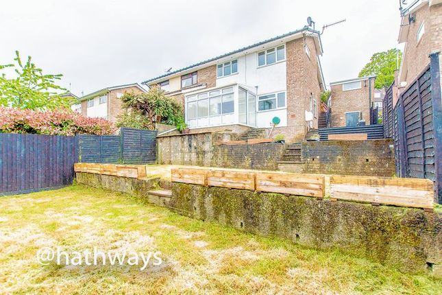 Thumbnail Semi-detached house for sale in College Glade, Caerleon, Newport