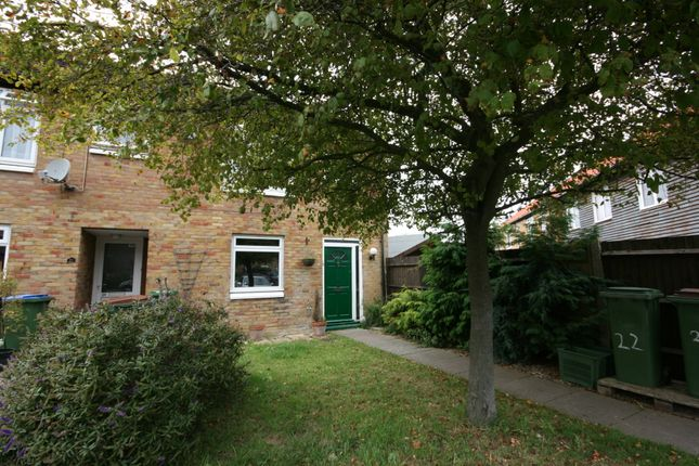 Thumbnail End terrace house to rent in Serrin Way, Horsham