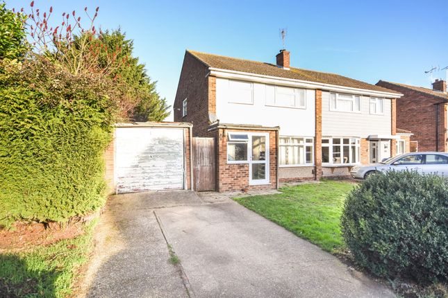Thumbnail Semi-detached house for sale in Linnet Drive, Tile Kiln, Chelmsford