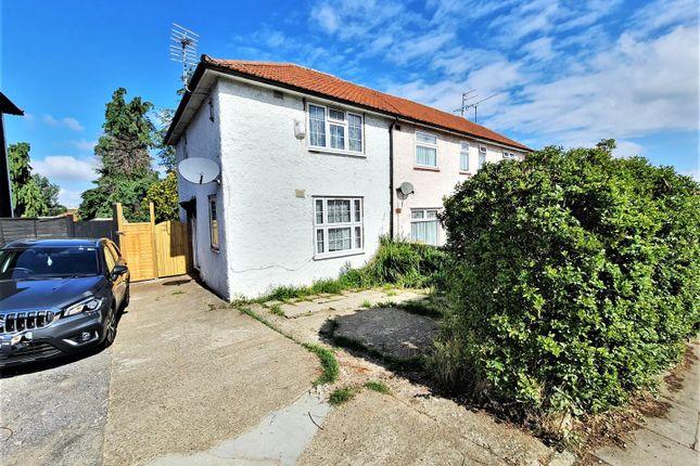 Thumbnail End terrace house to rent in Barnfield Road, Burnt Oak, Edgware