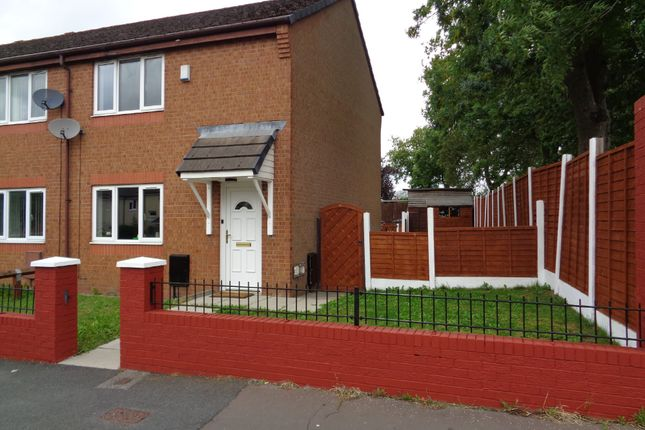 Thumbnail End terrace house to rent in Parkmount Road, Blackley, Manchester