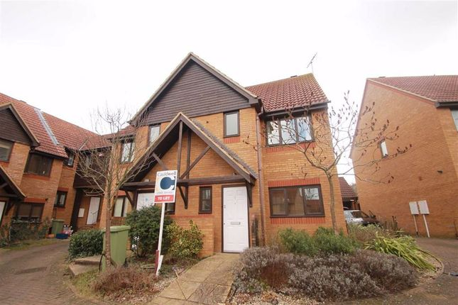 Thumbnail Semi-detached house to rent in Forthill Place, Shenley Church End, Shenley Church End Milton Keynes