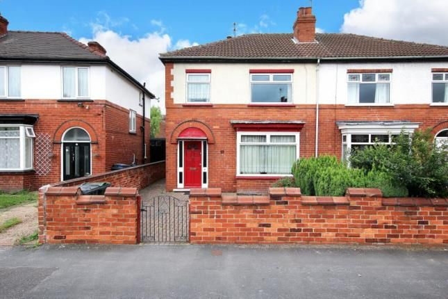 Thumbnail Semi-detached house for sale in Marlborough Road, Doncaster