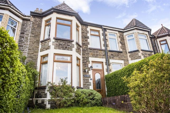 Thumbnail Terraced house for sale in Park Crescent, Bargoed, Caerphilly