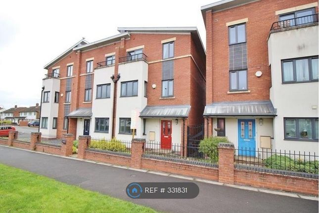 Thumbnail End terrace house to rent in Stafford Road, Wolverhampton